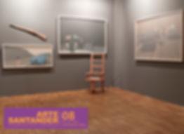 German Torres de Huertas. Arte Santander Feria Internacional de Arte. Germán Torres de huertas. Investigador en arte y artista multimedia. Master AVM Universidad Politécnica de Valencia