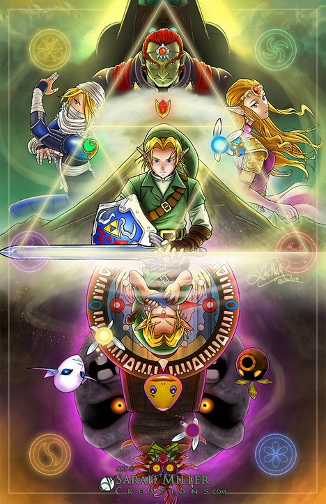 Legend of Zelda Poster