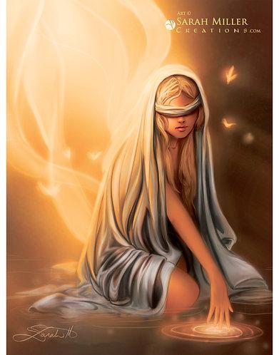 "Priestess 11""x14"" Poster"