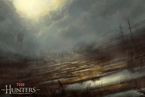 """Undead Marshes 11""""x17"""" Poster"""