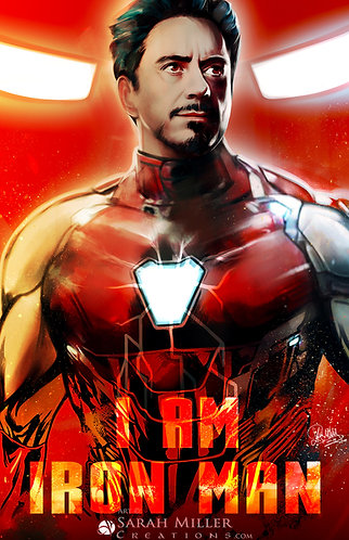 "Iron Man 11""x17"" Poster"