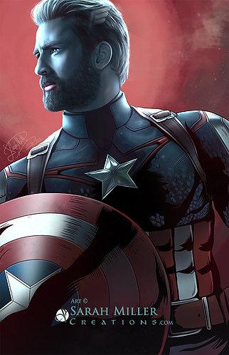 """Cap 11""""x17"""" Poster"""