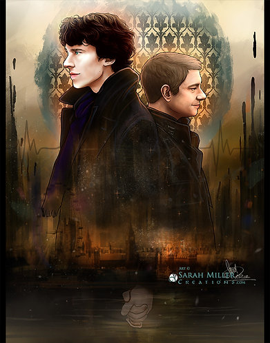 "221B 11""x14"" Poster"