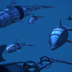 Mechanical Dolphins