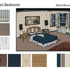 William Safire's Bedroom Concept
