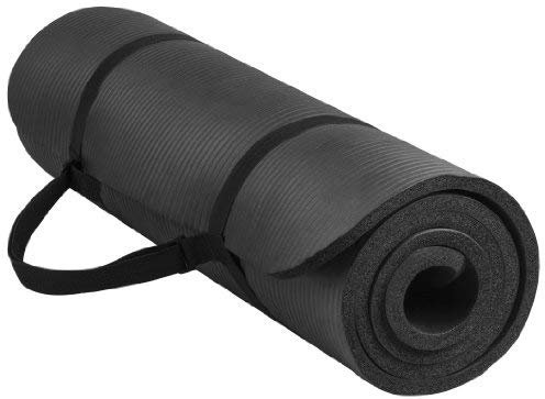 BalanceFrom GoYoga All-Purpose 1/2-Inch Extra Thick High Density yoga mat
