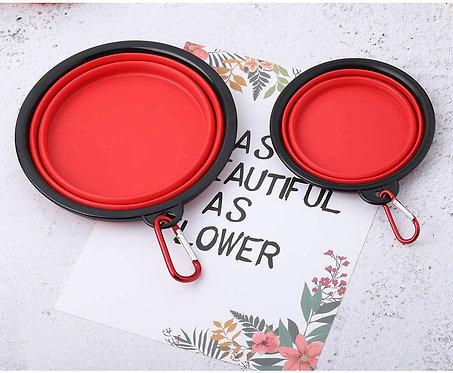 Petea Collapsible Dog Bowl Food Grade Silicone BPA Free