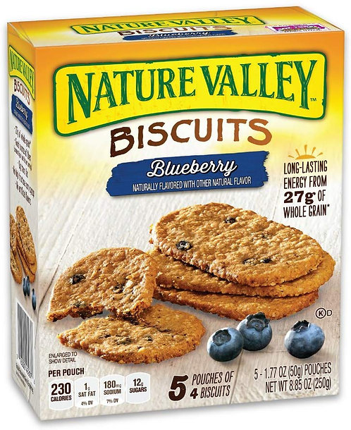 Nature Valley Breakfast Biscuit, Blueberry, 8.85 oz