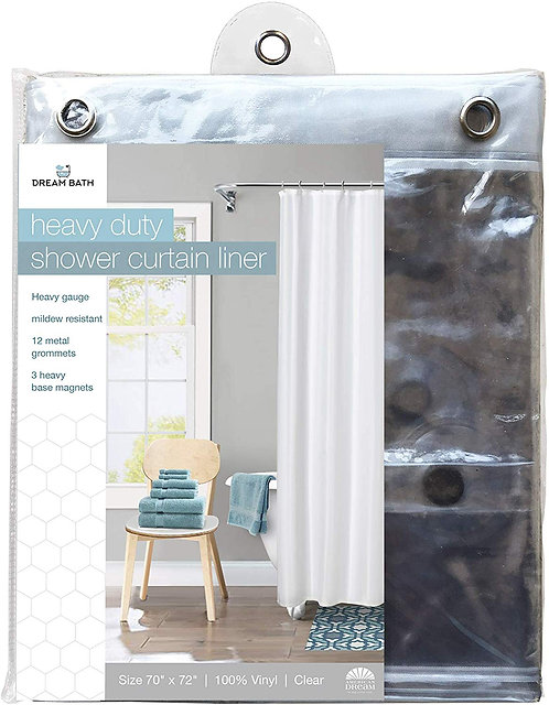 American Dream Home Goods Curtain AD388-CL Shower