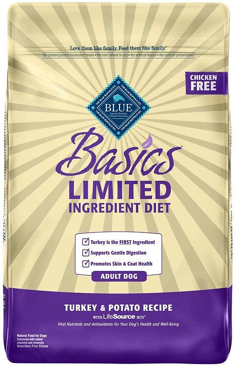 Blue Buffalo Basics Limited Ingredient Diet, Natural Adult Dry Dog Food