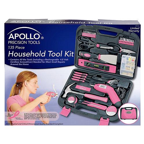 Apollo Tools DT0773N1 Household Tool Kit