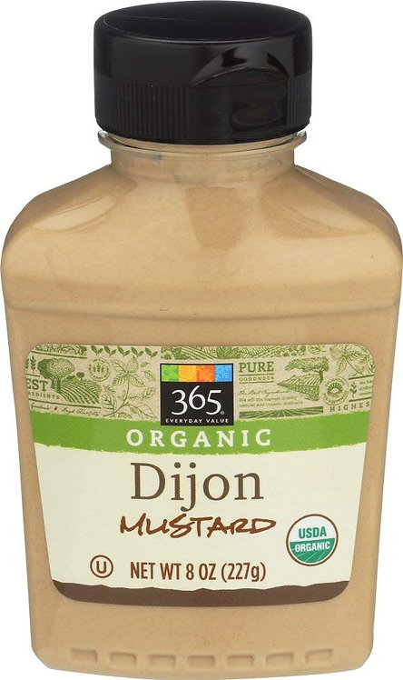 365 Everyday Value, Organic Dijon Mustard, 8 Ounce