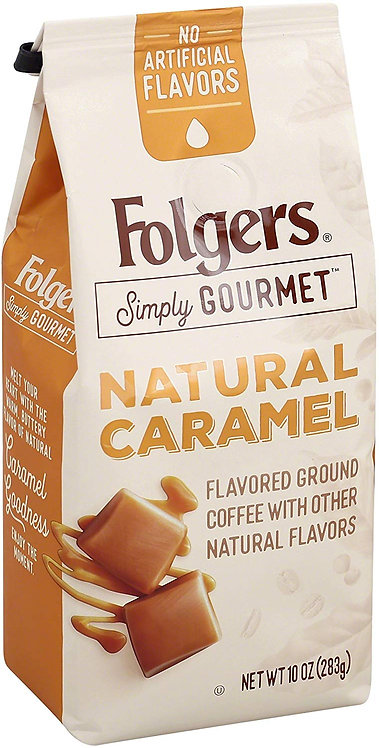 Folgers Simply Gourmet Flavored Ground Coffee