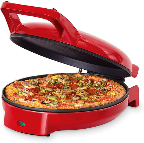 Dash DPS001RR Double Up Compact Electric Skillet Hot Oven Cooker