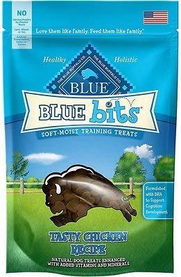Blue Bits Tasty Chicken Recipe Soft-Moist Training Dog Treats