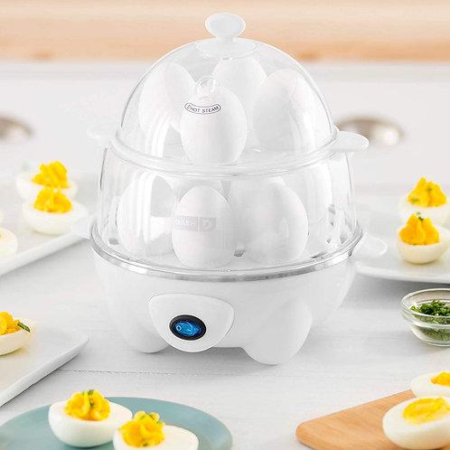 Dash DEC012WH Deluxe Rapid Egg Cooker: Electric, 12 Capacity