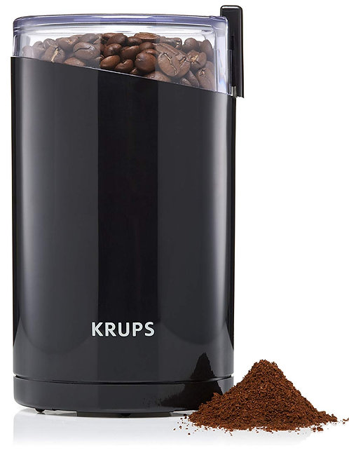 KRUPS 1500813248 203 F203 Electric Spice and Coffee Grinder with Stainless Steel