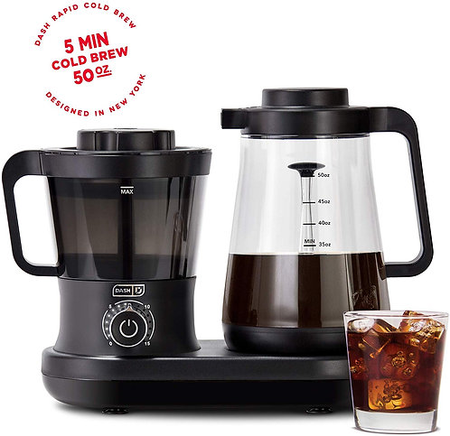 Dash Rapid Cold Brew Coffee Maker With Easy Pour Spout 42 oz