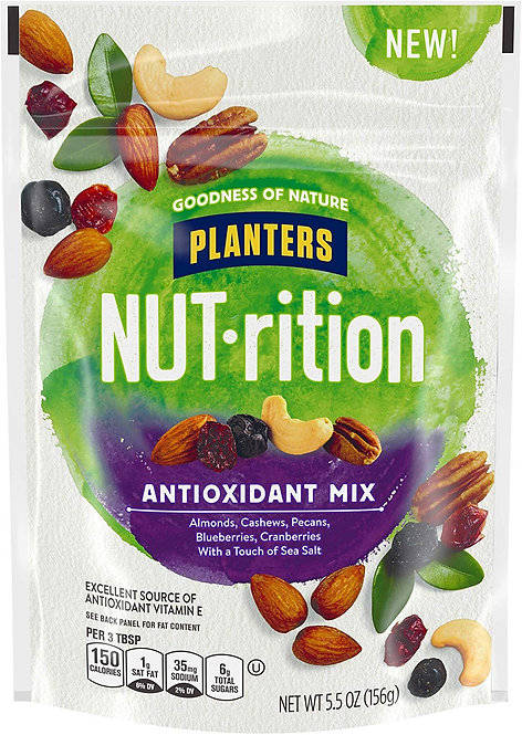 Planters NUT-rition Antioxidant Mix Bag, 5.5 Ounce
