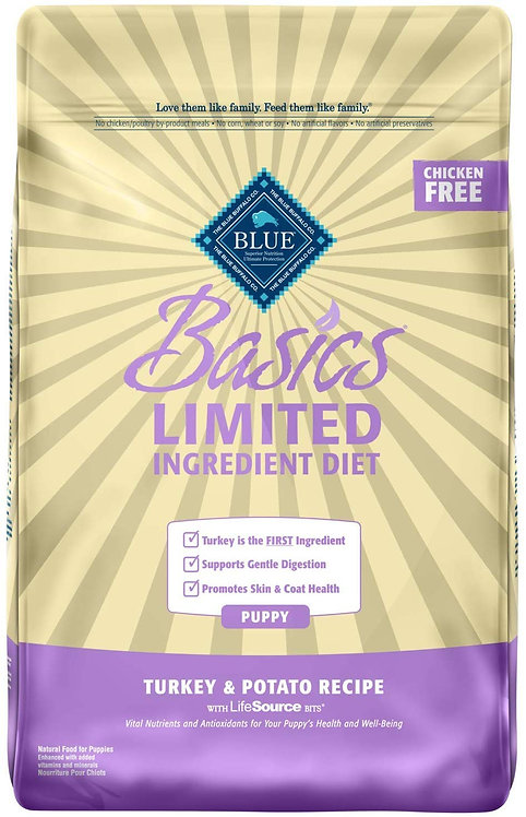 Blue Buffalo Basics Limited Ingredient Diet, Natural Puppy Dry Dog Food