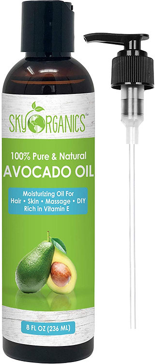 Avocado Oil by Sky Organics - 100% Pure, Natural & Cold-Pressed