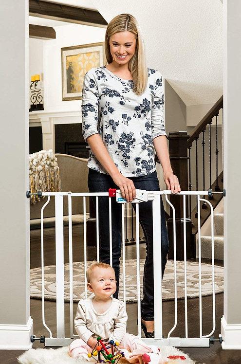 Regalo Easy Step 38.5-Inch Extra Wide Baby Gate, Bonus Kit