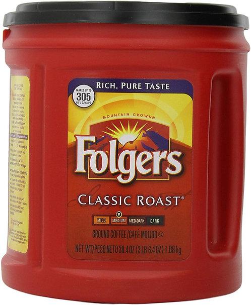 Folgers Classic Roast Coffee, 38.4 Ounce