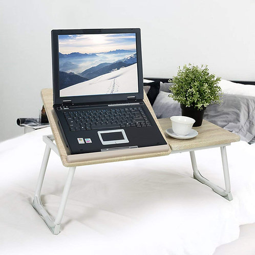 Ihouse Adjustable Laptop Bed Stand,Laptop Bed Tray Table