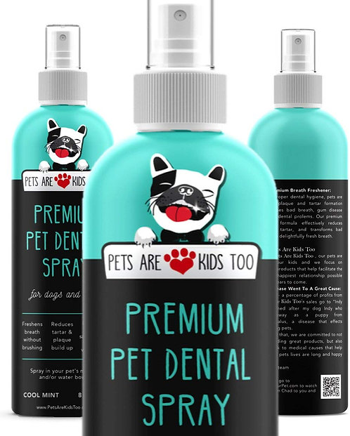 Premium Pet Dental Spray - Large 8oz