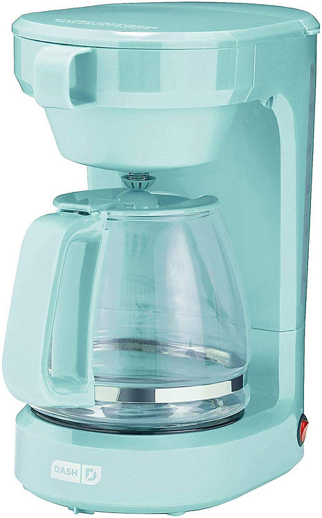 Dash Coffee Maker 12 Cup Express - Aqua