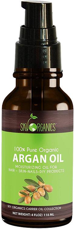 Argan Oil By Sky Organics: Unrefined, 100% Pure, Cold-pressed