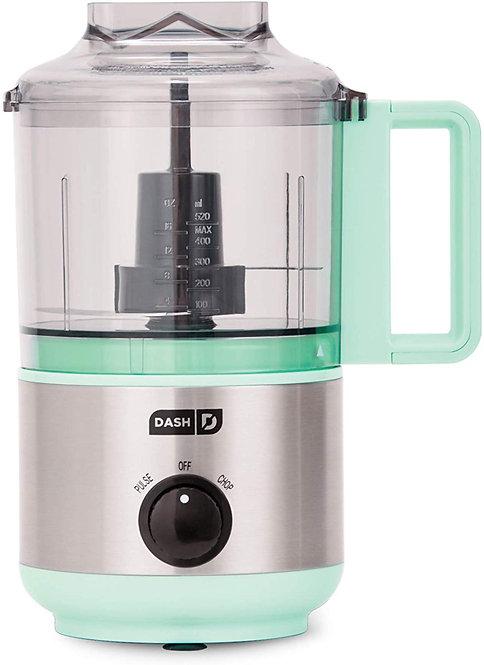 Dash DMFP100AQ Mini Food Chopper, Blender