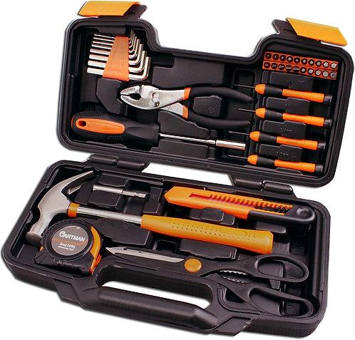 CARTMAN Orange 39-Piece Tool Set - General Household Hand Tool Kit