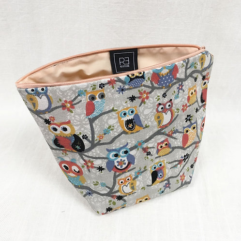 Cosmetic Bag Owls
