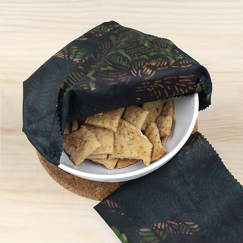 Beeswax Wrap - Dark Green