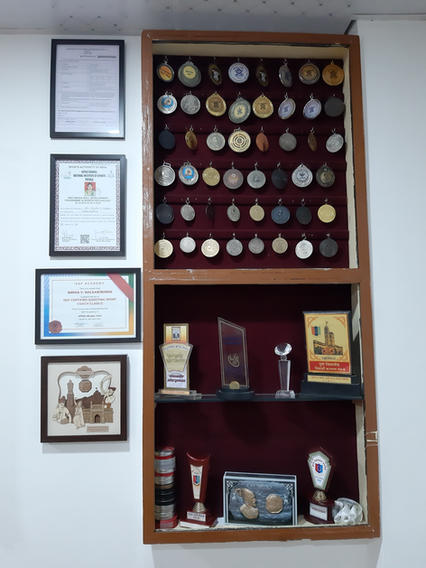 RSSA Medals