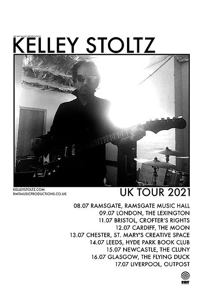 Kelley_Stoltz_•_UK_Tour_2021_•_POSTE