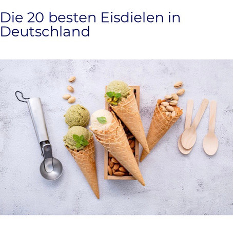 Varta-Führer: Die 20 besten Eisdielen in Deutschland