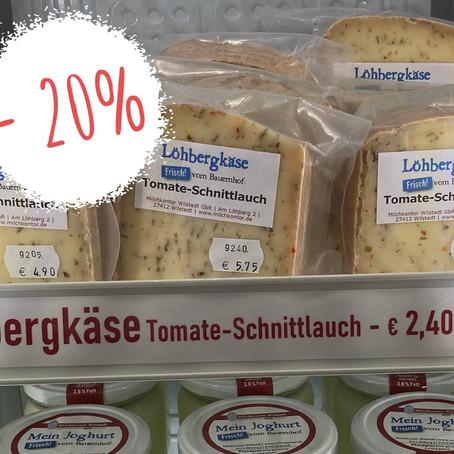 Tomate-Schnittlauch-Käse: 20%-Aktion