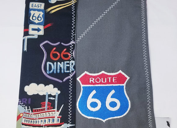 Route 66, Vacation, EDC Hank, Pocket Square