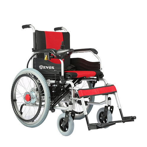 EVOX/POWER & ELECTRIC WHEELCHAIR/WC 101 / ELECTRICAL BATTERY OPERATED/FOLDABLE