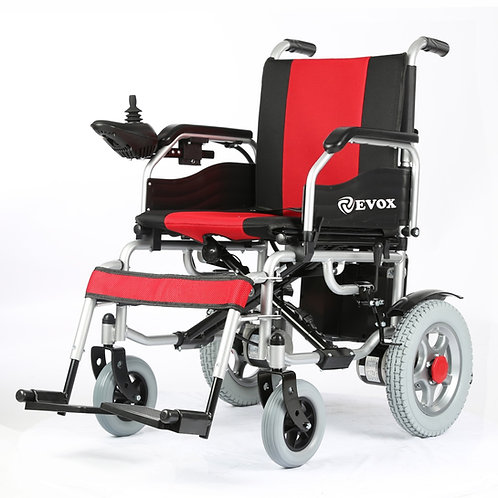 EVOX   ELECTRIC WHEELCHAIR   WC 105 BATTERY OPERATED   ALL WARRANTED