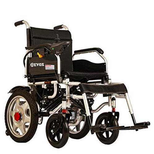 EVOX | ELECTRIC WHEELCHAIR | WC 102-ME |WITH MAG WHEELS | PORTABLE | FOLDABLE