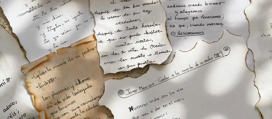 JORGE MANRIQUE y sus coplas