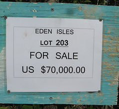 Land for sale - Lot 203 - Eden Isle on C