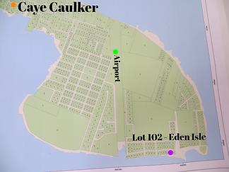 lot 102 for sale Caye Caulker Belize