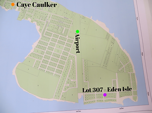 lot 307 for sale Caye Caulker Belize