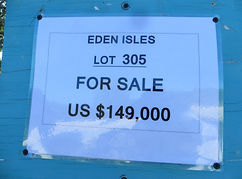 Land for sale - Lot 305 - Eden Isle on C