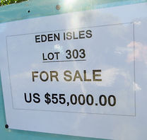 Land for sale - Lot 303 - Eden Isle on C