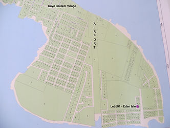Land for sale - lot 501 map - Eden Isle